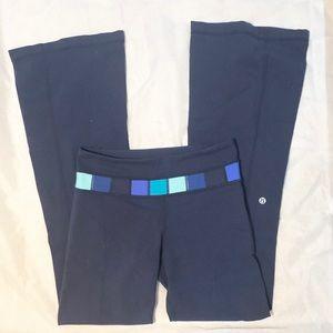 Lululemon Navy Blue Groove Yoga Pants